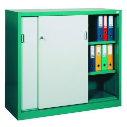 Cabinet metal for documents with doors coupe