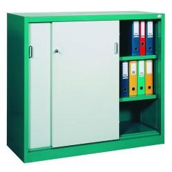 Шафа для документів з дверима-купе металева Sbm 112