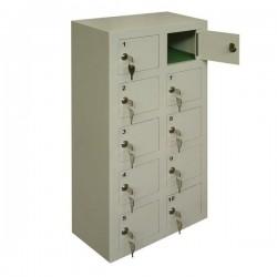 Ячеечный шкаф металлический для мобильных телефонов