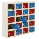 5 tier locker with 20 compartments for mobile phones