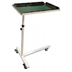 Metal mobile surgical trolley