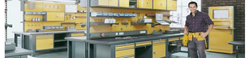 Мебель для гаража, СТО и мастерских (верстаки)