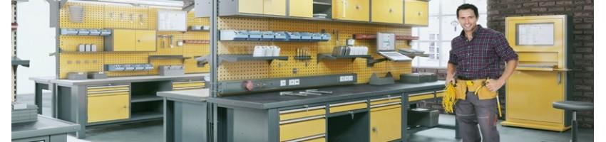Промышленная мебель (для гаража, СТО и мастерских (верстаки)