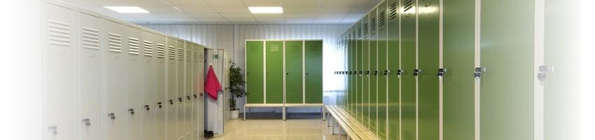 Metal lockers manufacturer Litpol-Ukraine (wardrobe lockers and storage systems)
