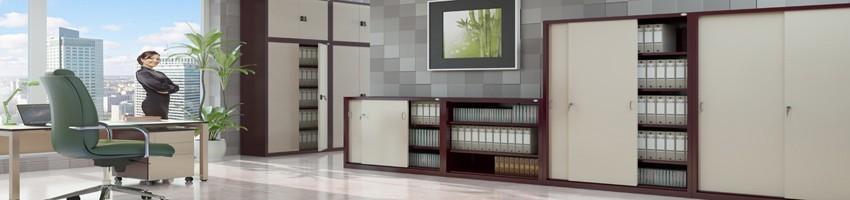 Офісні меблі (металеві офісні меблі, меблі для персоналу, кабінети керівників)