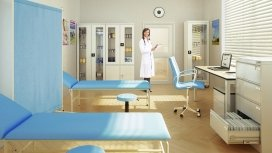 Medical metal cabinets